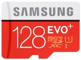 SAMSUNG EVO Plus Micro 128Gb +адап (100/90 mb/s) купить